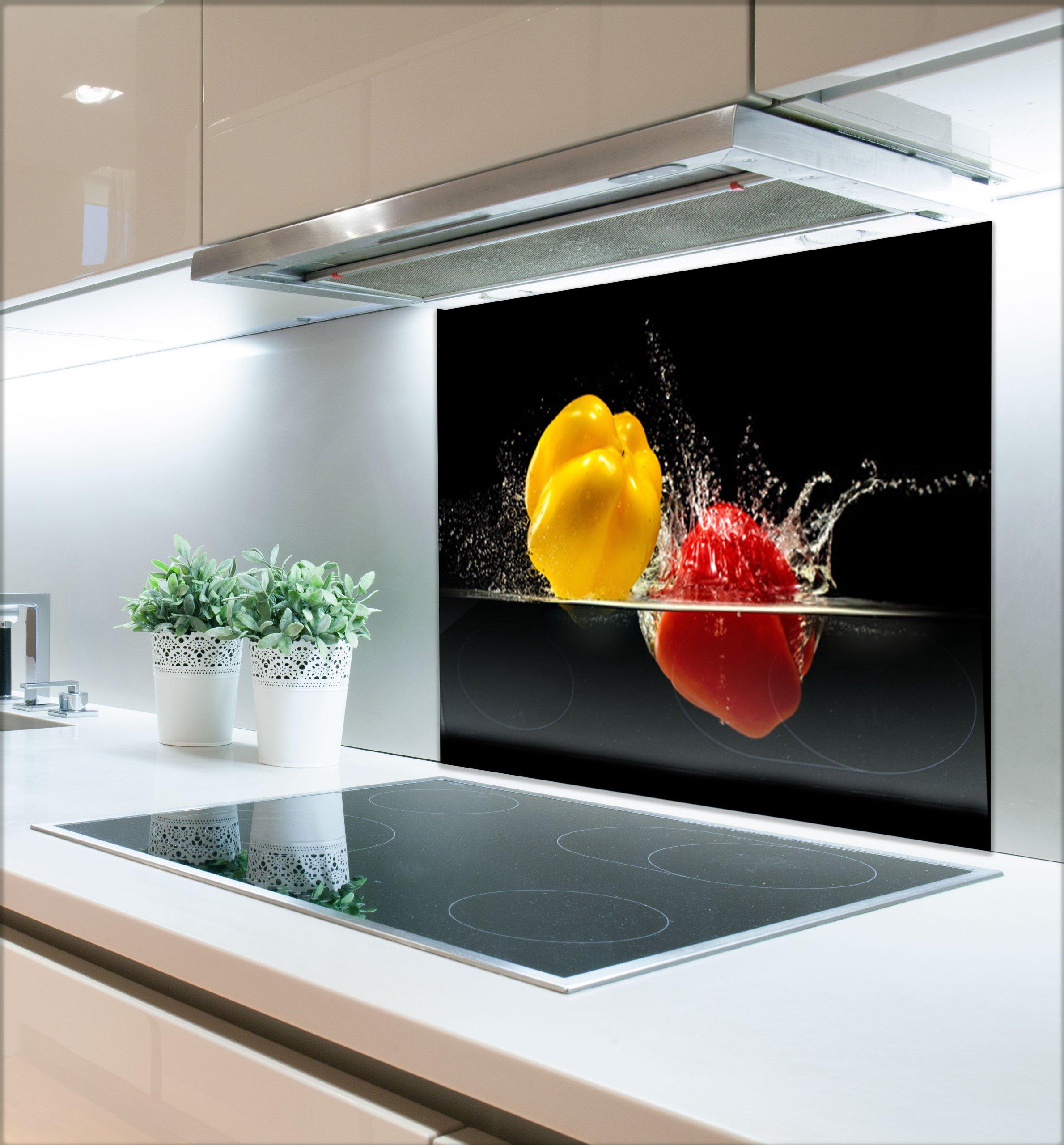 Do Kuchni Panele Hartowane 60x80 Owoce W Wodzie