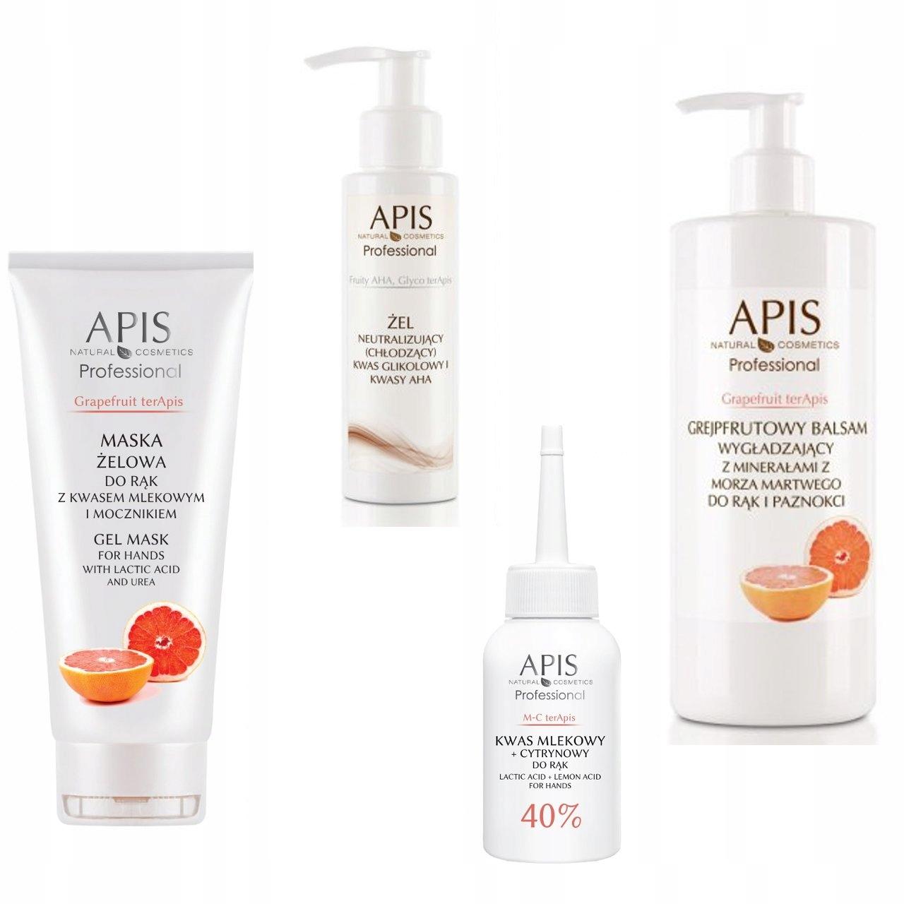 APIS Grapefruit Terapis Zabieg eksfolujący do rąk