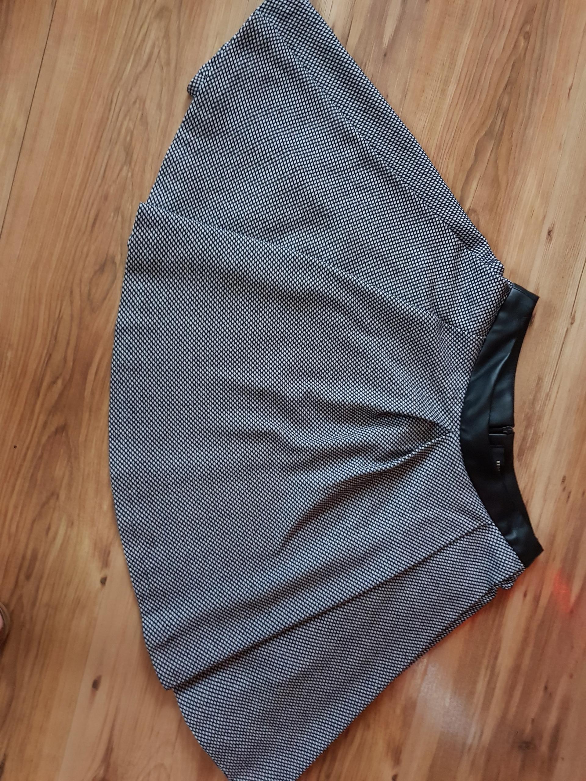 spódnica w paski reserved, rozmiar S