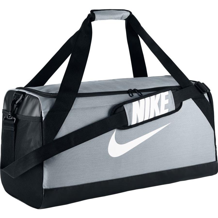 78ef8e9565978 Torba Nike Brasilia Duff szara BA5335 043 r. S - 7527435075 ...