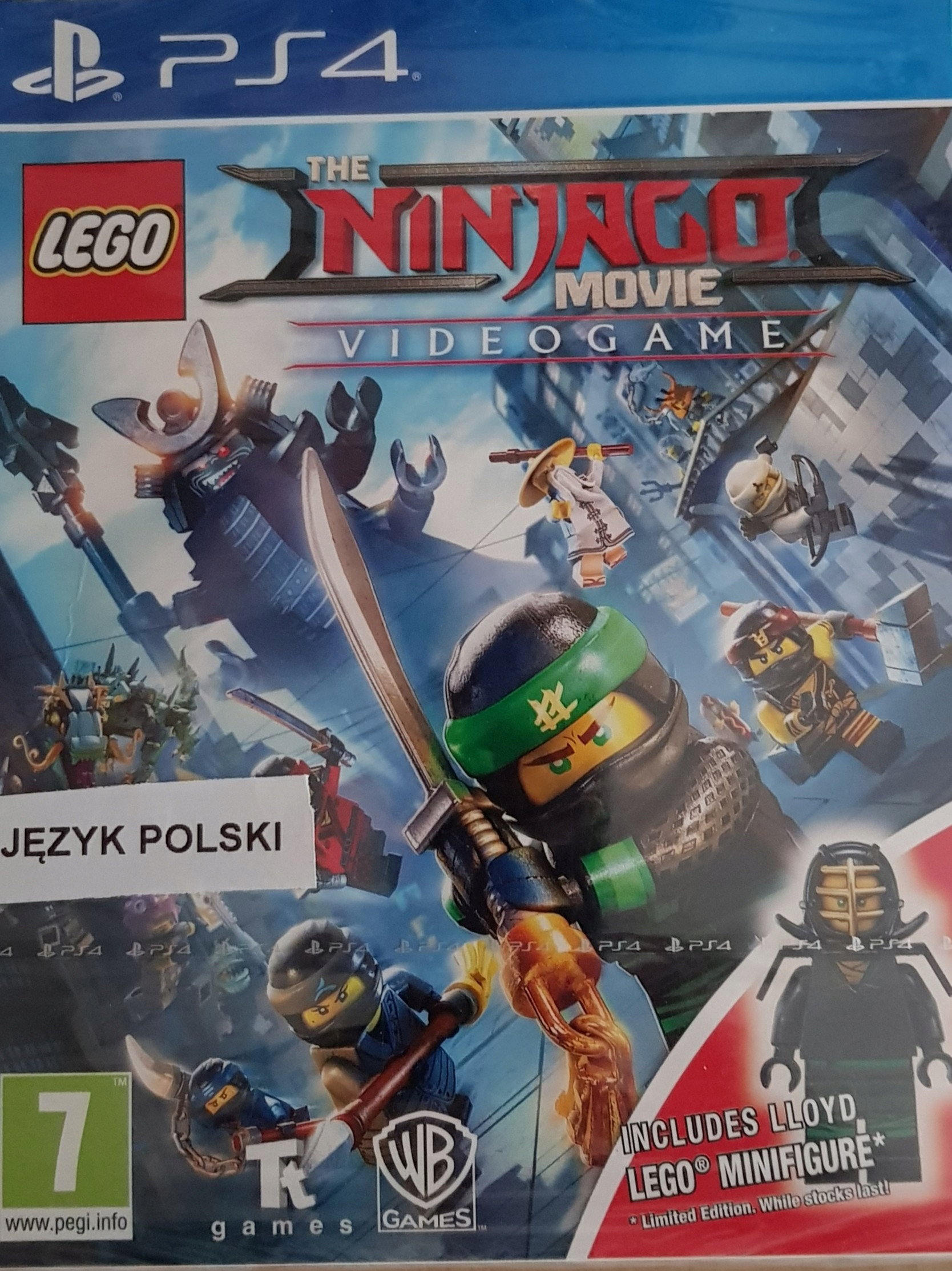 Lego Ninjago Movie Pl Dubbing Ps4 Figurka Nowa 7435551388