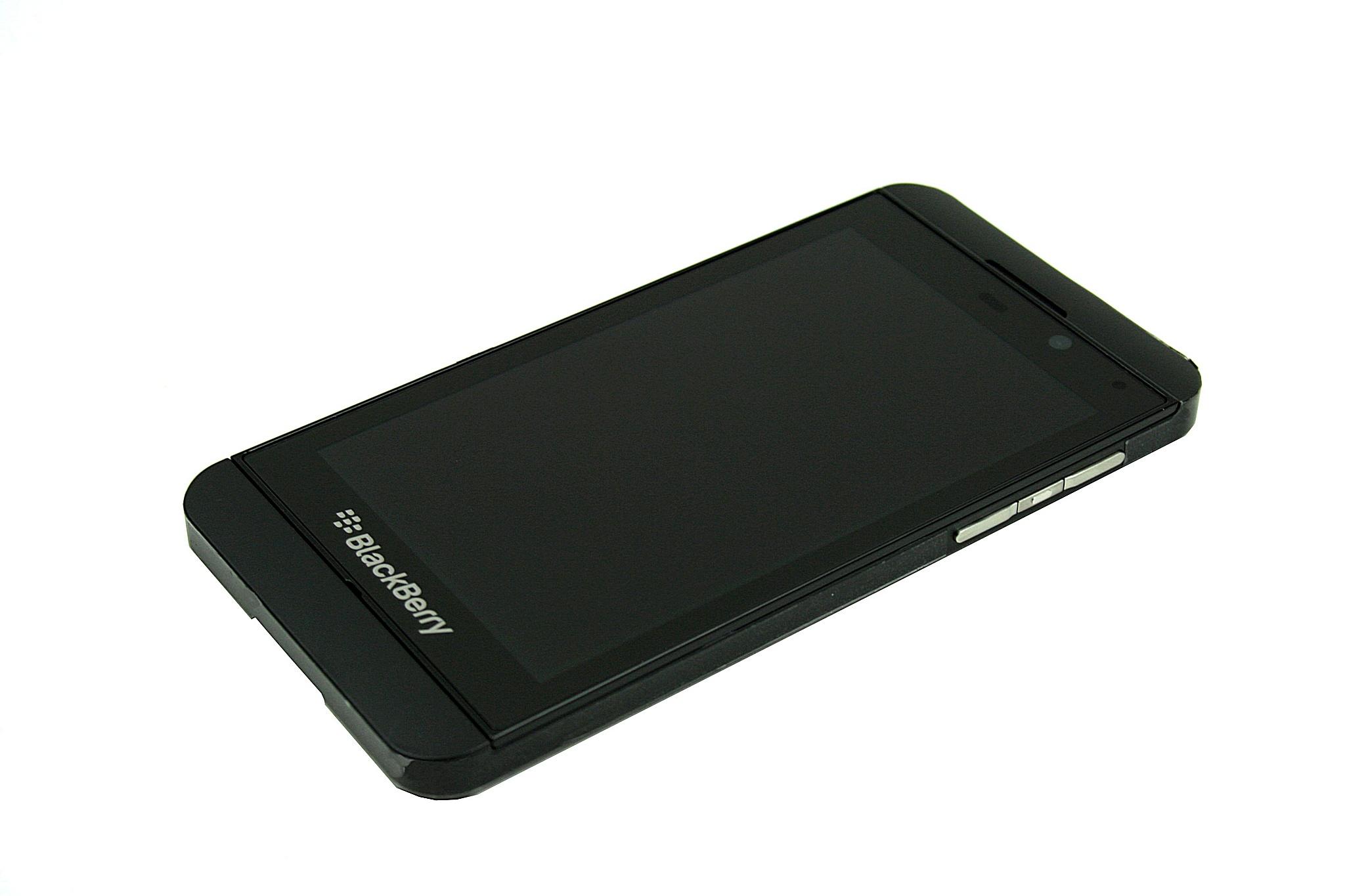 LCD BLACKBERRY Z10 4G + DOTYK Z RAMKĄ CZARNY