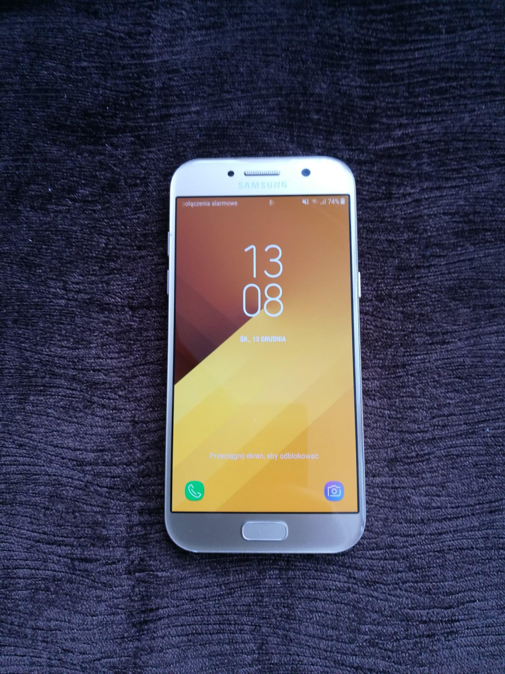 Samsung Galaxy A5 2017 Gold Sands 7093033764 Oficjalne Archiwum