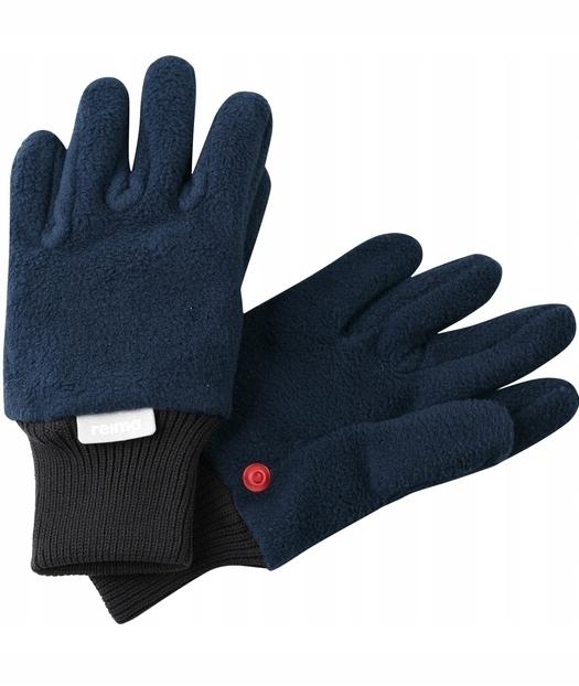 Rękawice polarowe Reima, Osk Granatowe 3-4