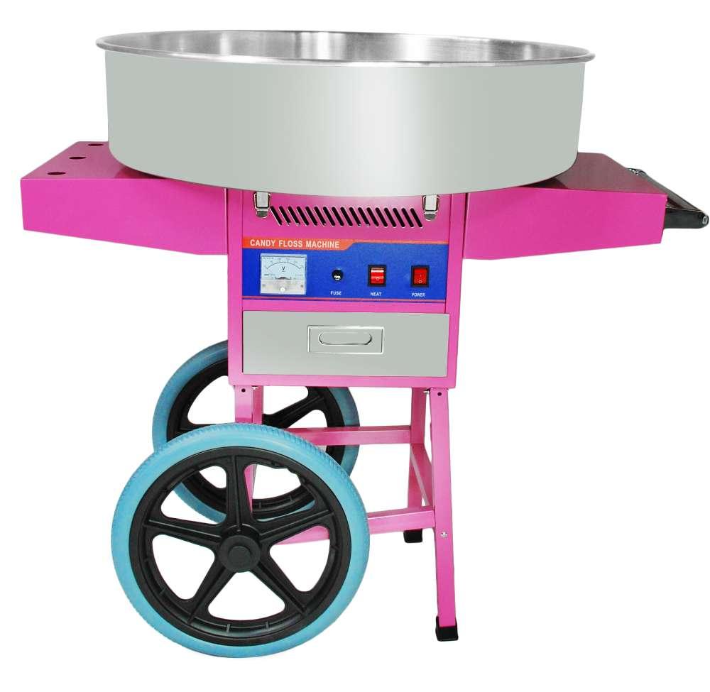 Maszyna do waty cukrowej + wózek PROMOCJA cookPRO