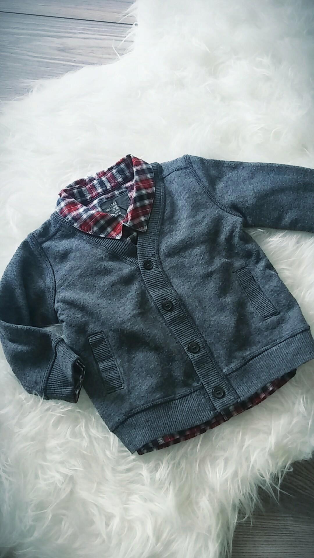 1c7f3b67a7 Koszula +sweterek H M roz.68 4-6 m - 7457016376 - oficjalne archiwum ...