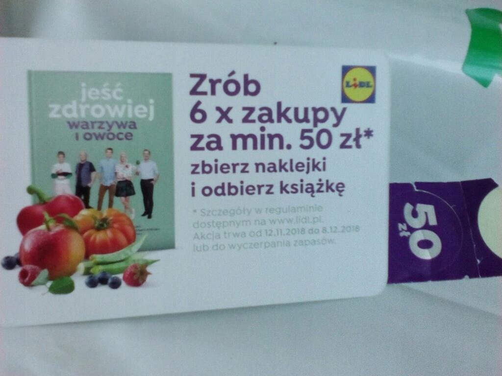 Naklejka Lidl Za 50 Zl Odbierz Ksiazke Karta 7693641865