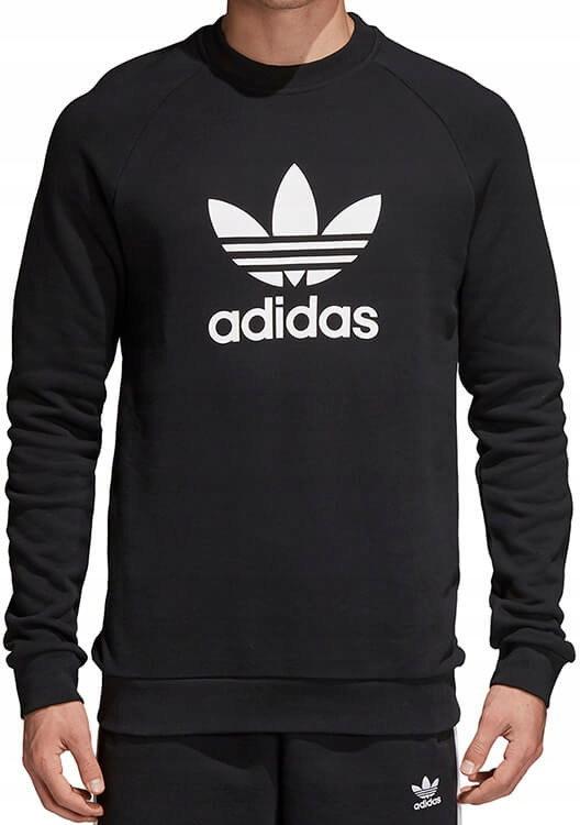najwyższa jakość buty jesienne zasznurować Bluza Męska Adidas Originals CREW Trefoil r.M - 7364581114 ...