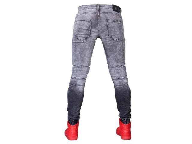 Spodnie joggery grafit zs773-11 fashionmen2 r. 29 - 7050690563 ... 80a3ab2e55