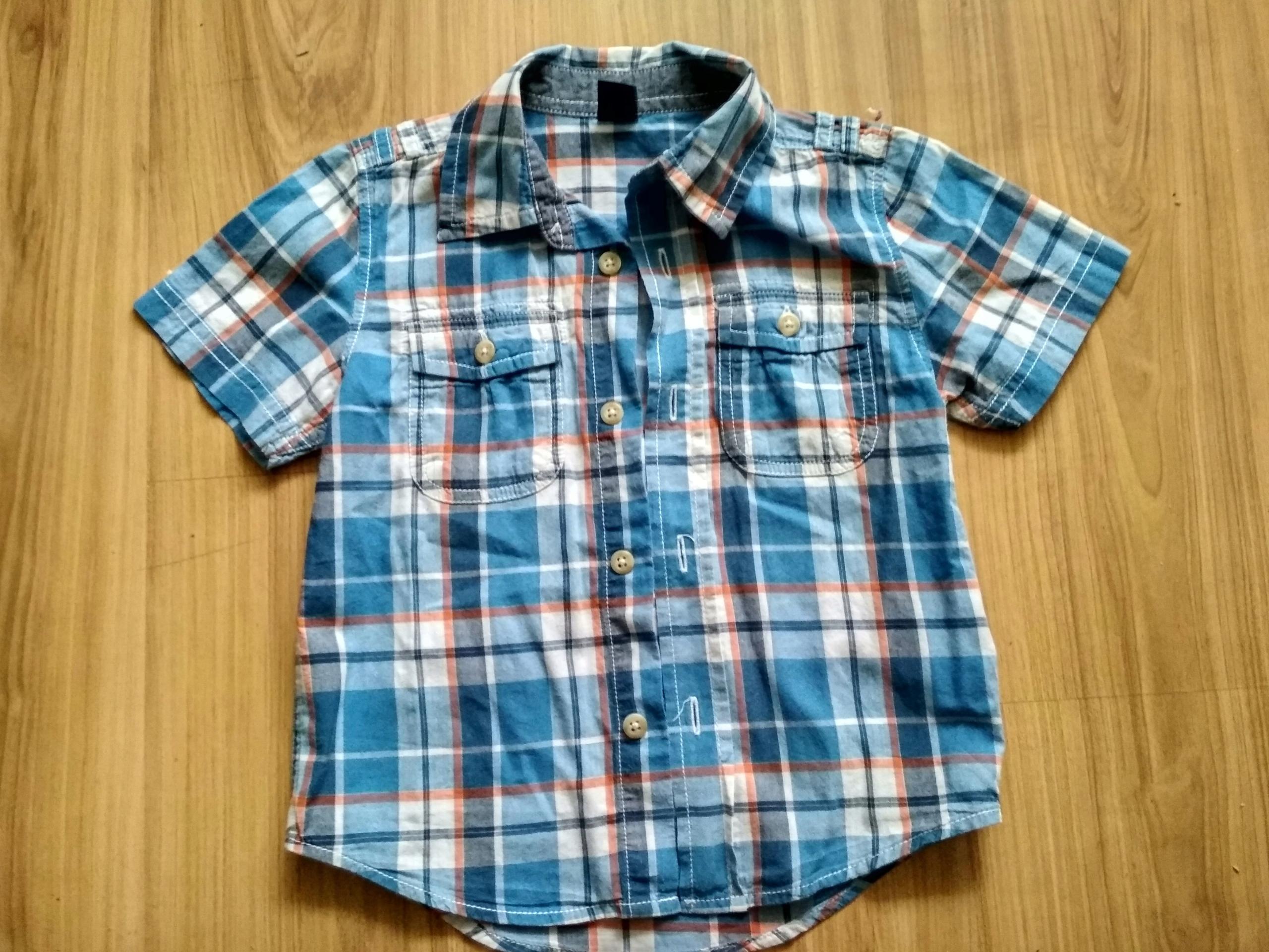 Piękna Koszula z krótkim rękawem rozmiar 92 - 98