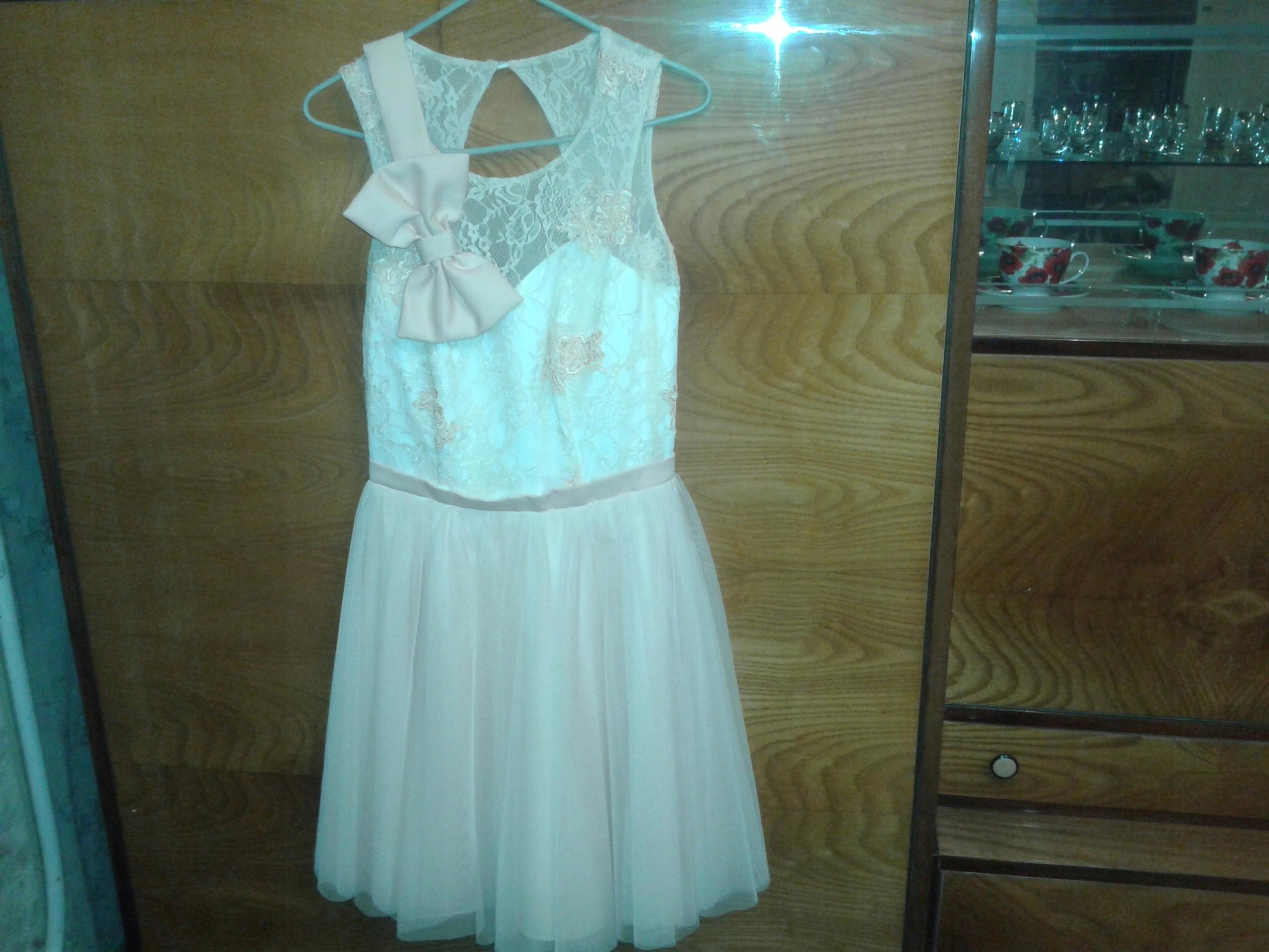 279d8f398f Różowa Sukienka Tiulowa Rozkloszowana Na Wesele - 7574652062 ...