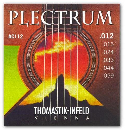 Struny gitarowe THOMASTIK PLECTRUM AC 112 komplet