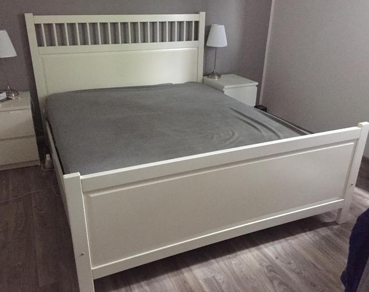 łóżko Ikeaseria Hemnes 2 Białestelażmatera 7328166917