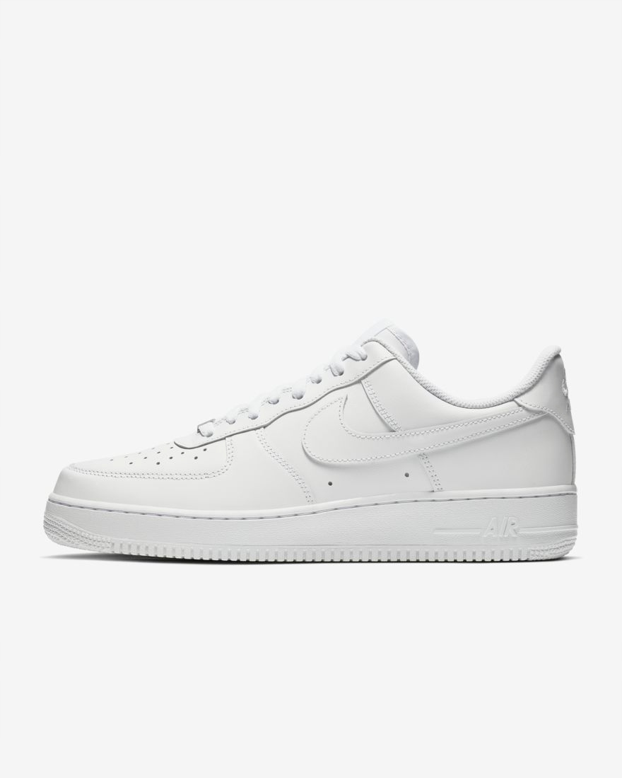 Nike Air Force 1 Low '07 All White EU 47 US 12.5