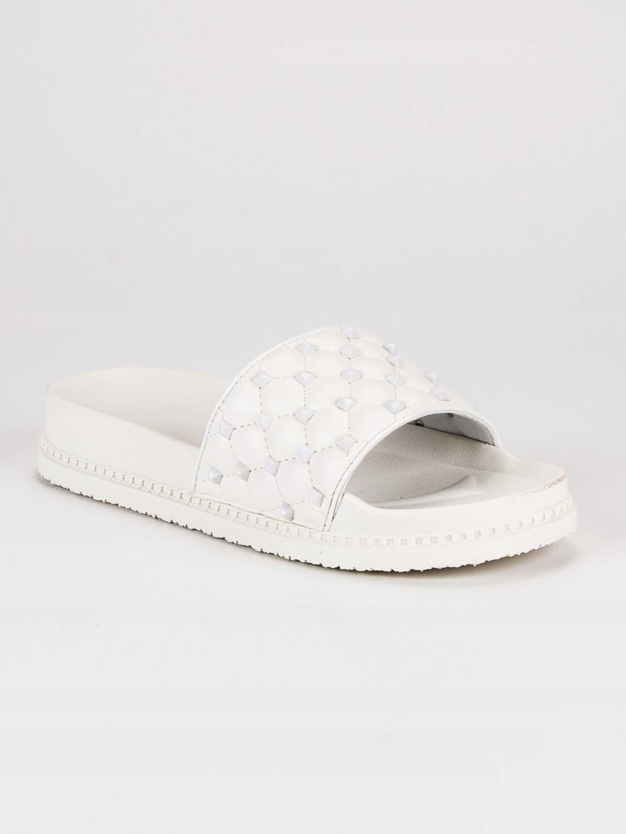 770a0298acaa1 STYLOWE KLAPKI DAMSKIE 37 białe buty tenisówki - 7423335581 ...