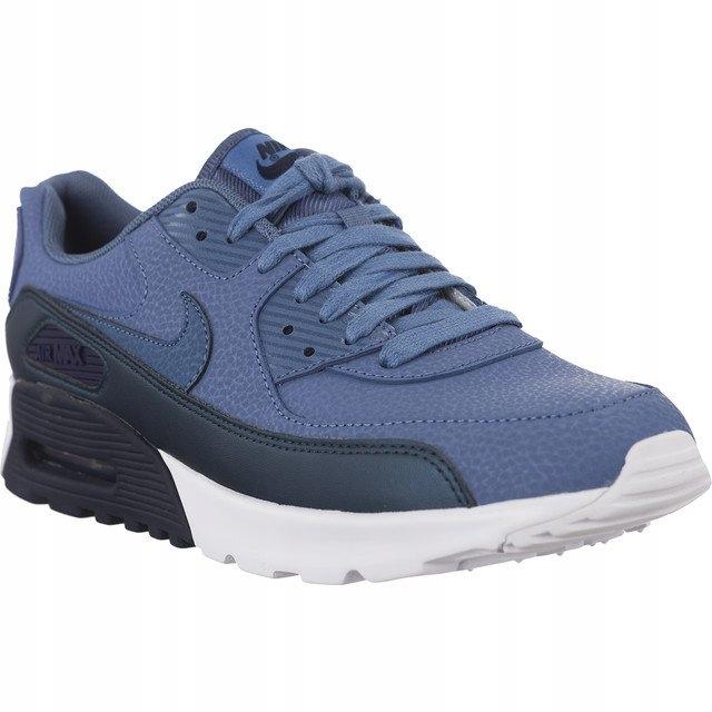 DamskieMęskie Nike Air Max 90 Ultra SE GS 400 niebieski