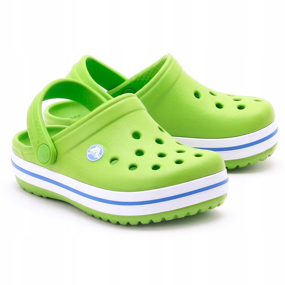 bv2911 crocs zielone buty męskie domowe m9/w11