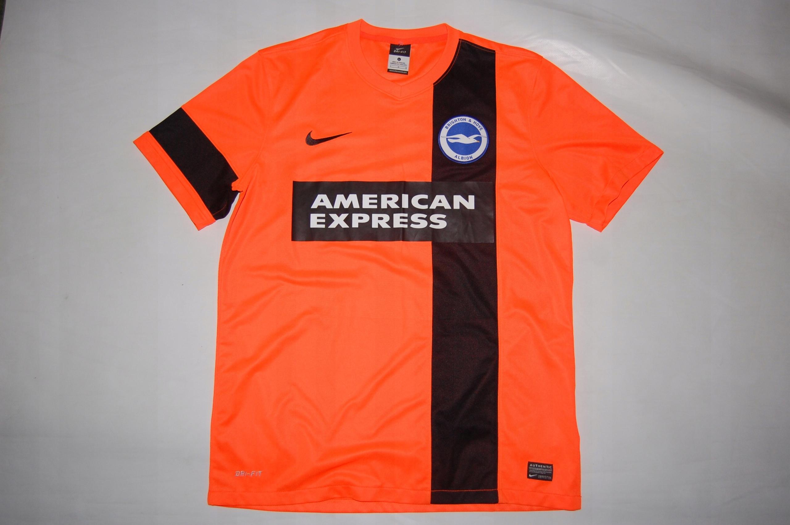 Koszulka NIKE Brighton   Hove Albion Rozmiar L - 7574644817 ... 1a2b1a749