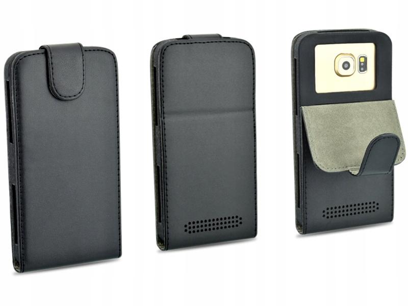 Etui czarne do telefonu SONY Xperia M5