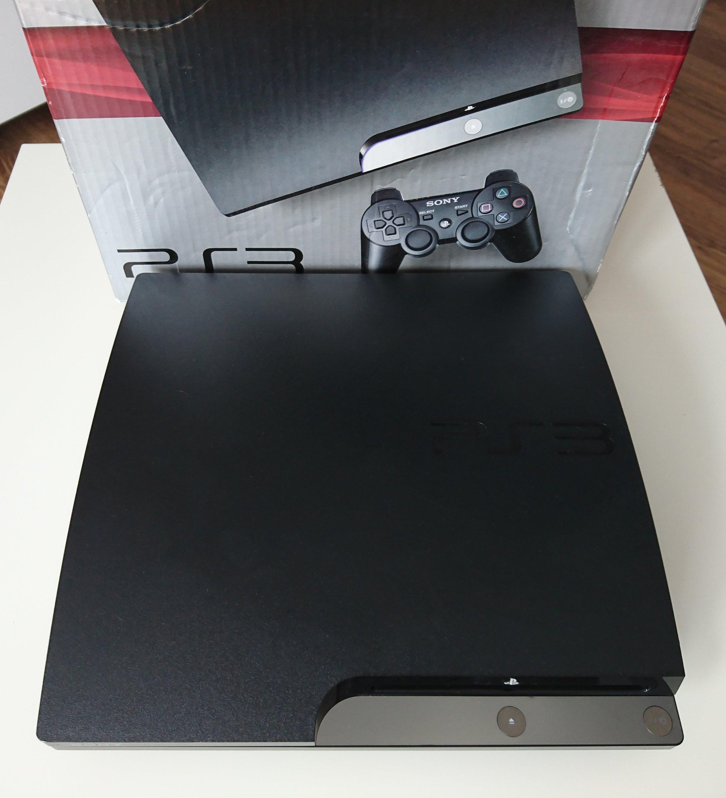 Super Playstation 3 Slim 320gb Odblokowane Z Cfw 7394740420 Sony 320 Gb