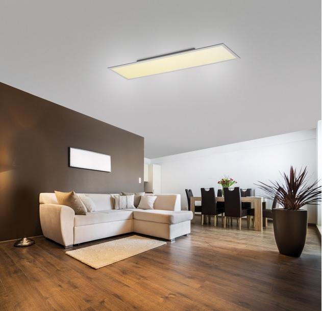 Lampa Plafon 41w 30x120 Led Do Kuchni ściemniacz