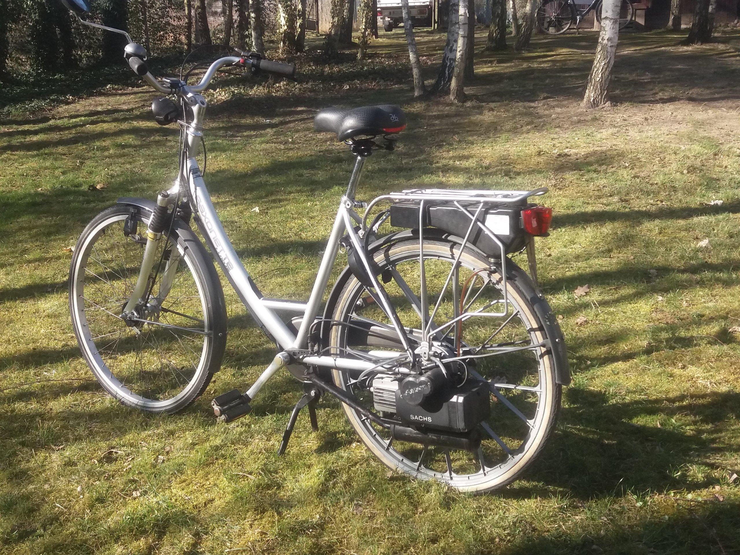 rower  Saxonette  Spartamet