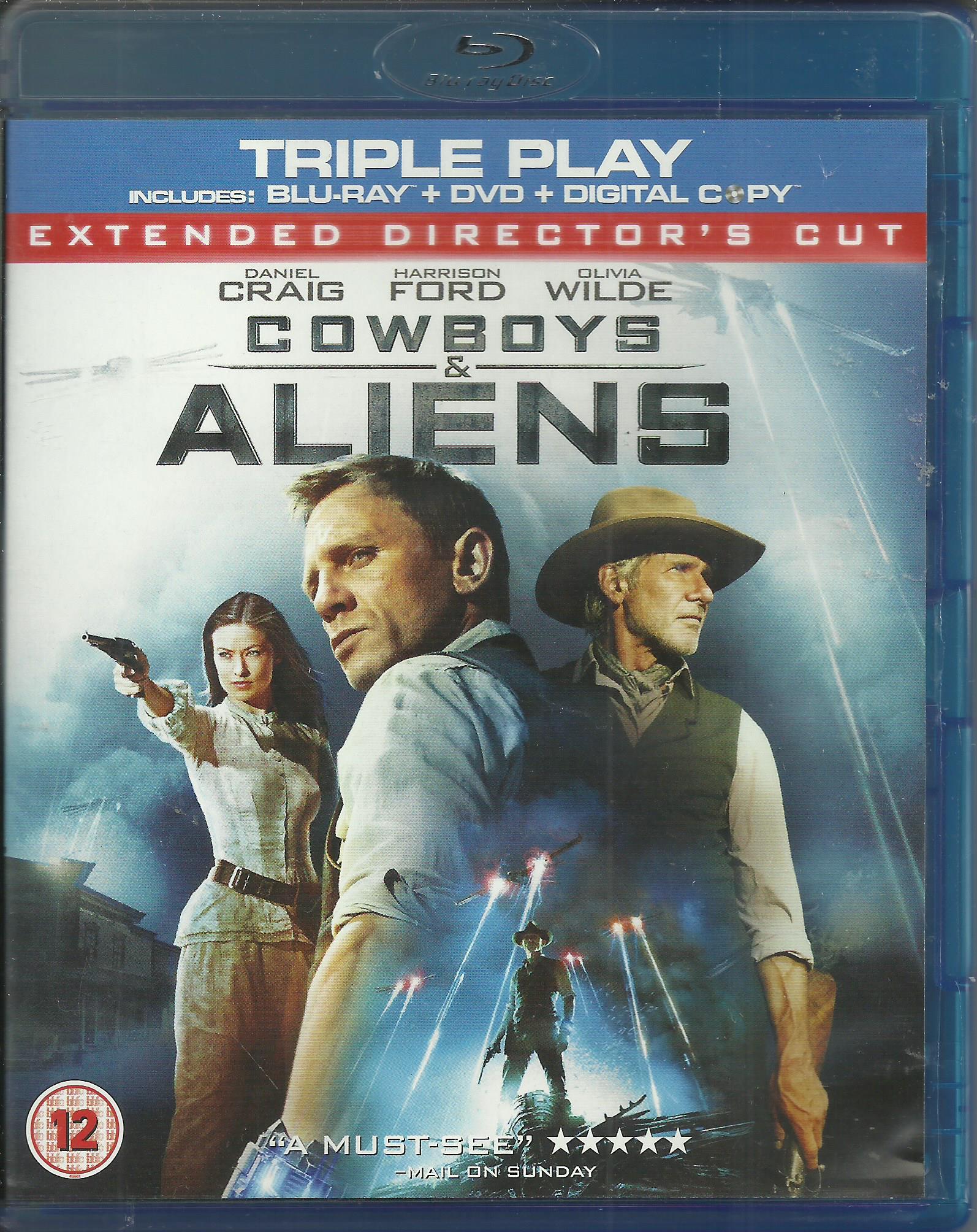 Cowboys & Aliens / Kowboje i obcy - Blu-ray+DV