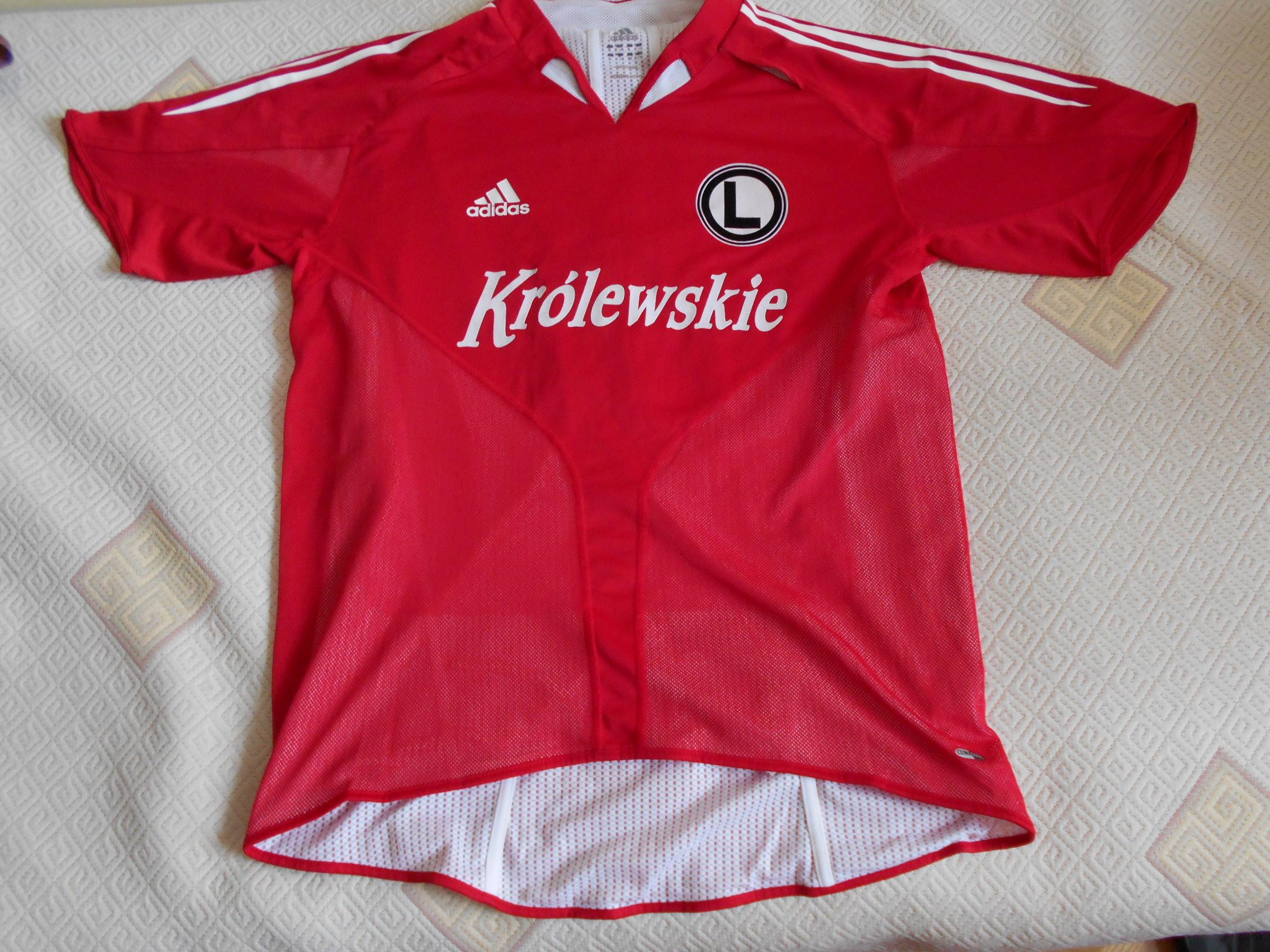 630bb4794802b Legia Warszawa koszulka sportowa adidas L. - 7418188374 - oficjalne ...