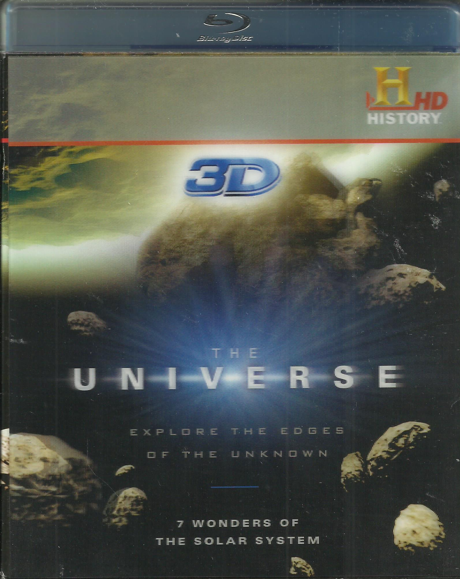 The Universe 7 Wonders of the Solar System Blu-ray