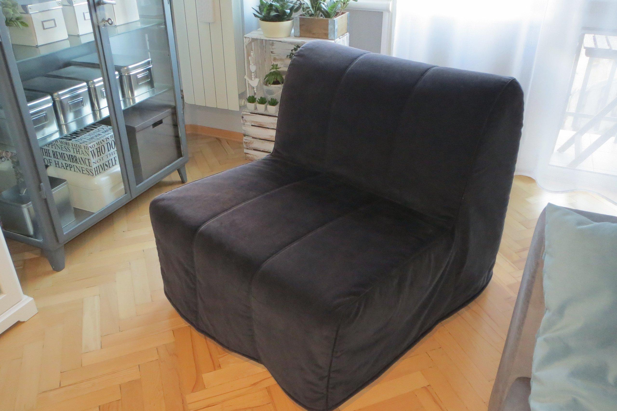 Fotel Rozkładany Ikea Lycksele Hvet