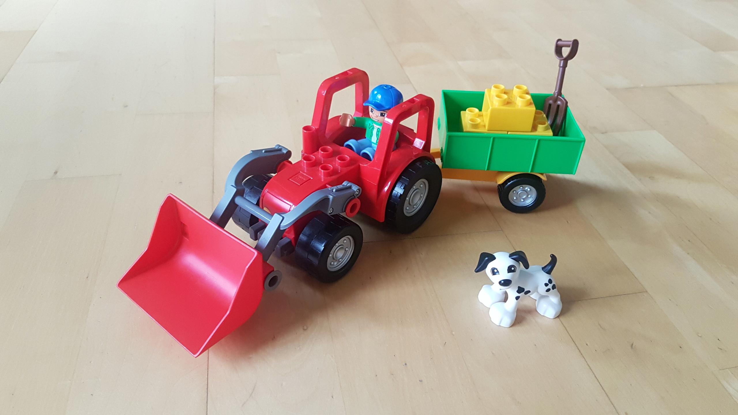 Klocki Lego Duplo Traktor Farma 5647 7465596923 Oficjalne