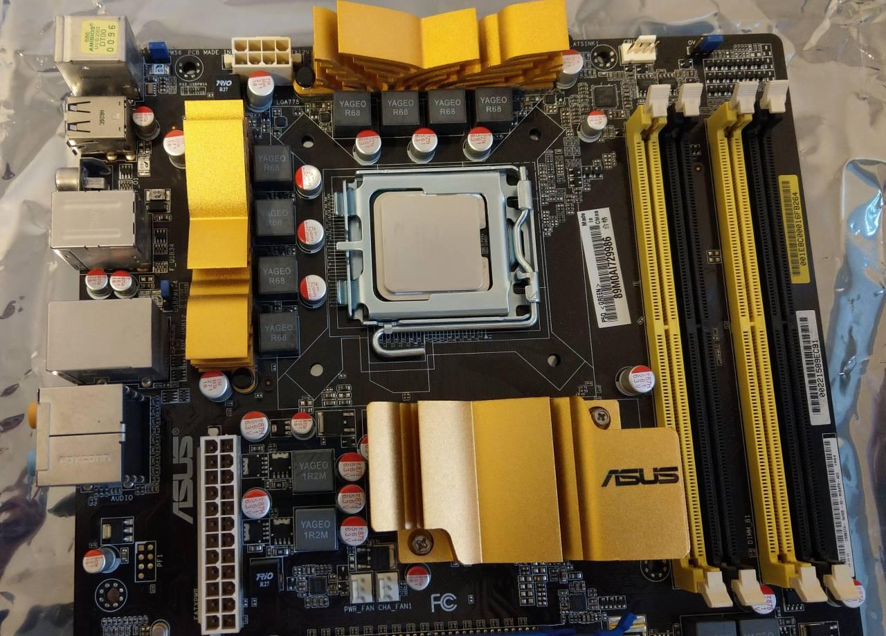 Płyta główna ASUS P5Q - P45 RAID pod Xeon E5450 - 7151874658