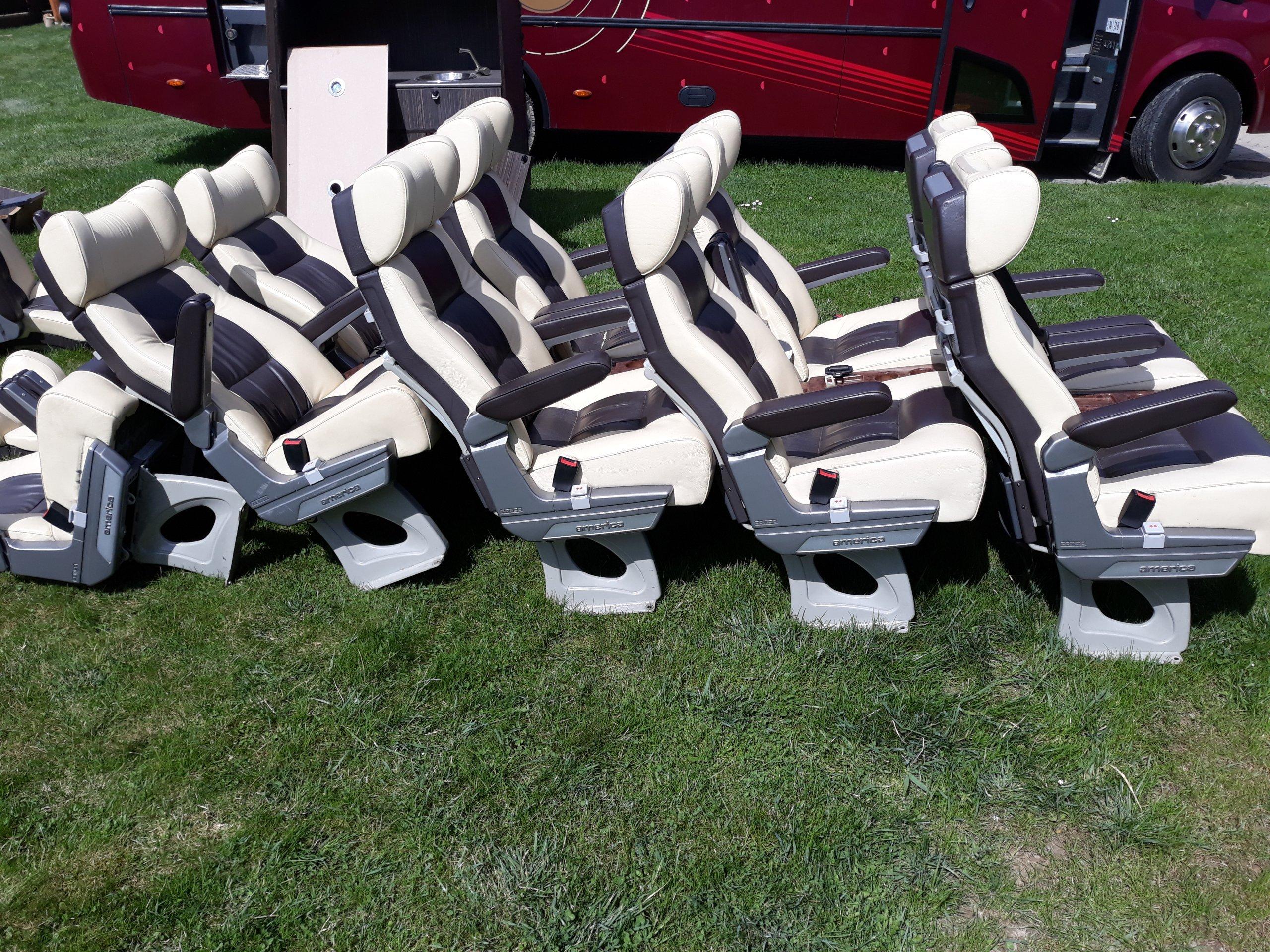 Fotele Siedzenia Do Busa Autobusu Vip Class 7291718824