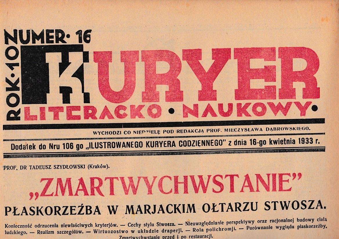Kln 1933 16 Niepołomice Wola Batorska Myślistwo