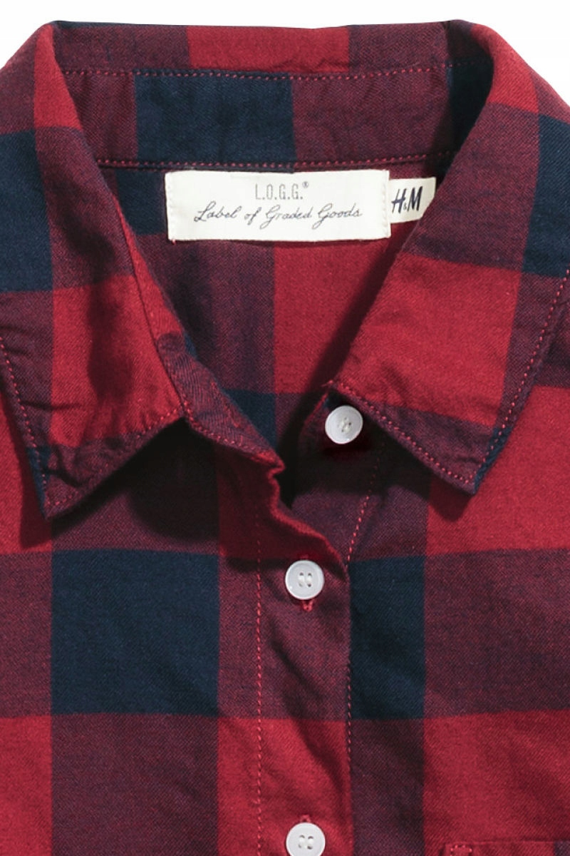 H&M Flanelowa koszula rozm. 38 M 7350267302 oficjalne  8bs1I