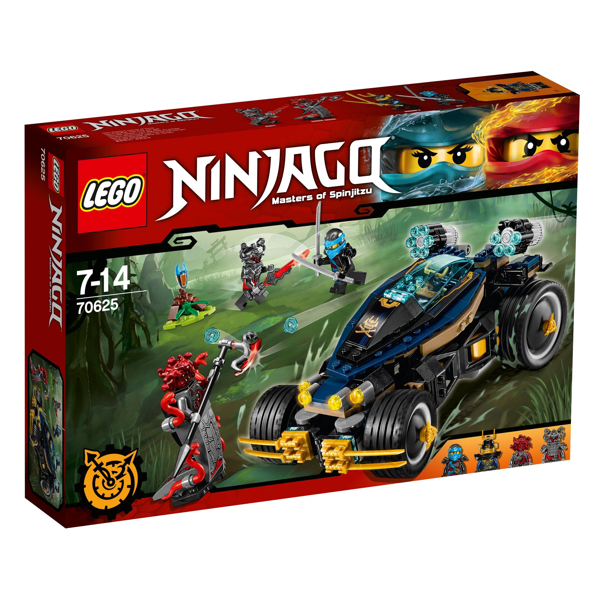 Lego Ninjago Klocki Ninjago Samuraj Vxl 70625 6915679799