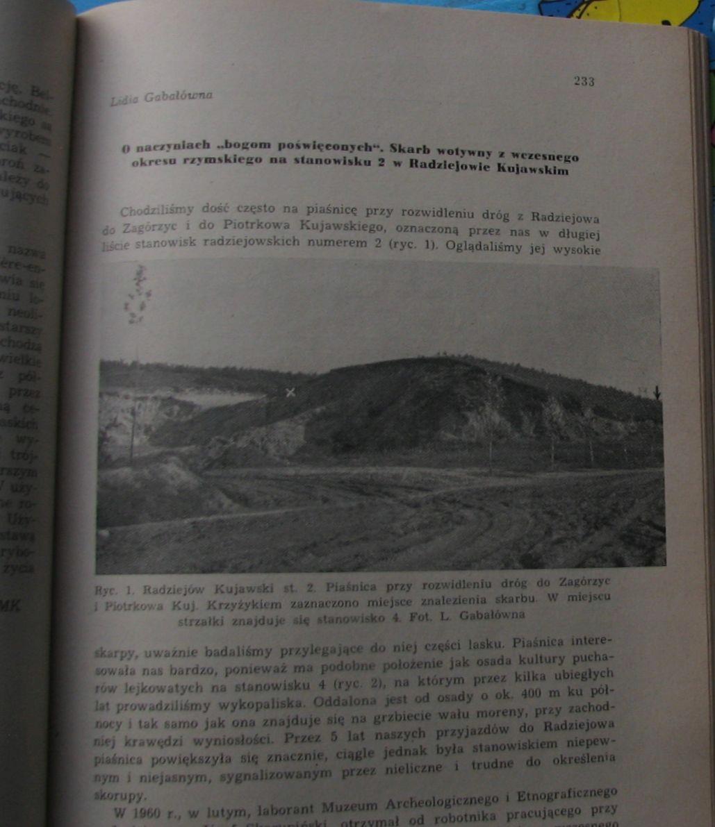 Z OTCHŁANI WIEKÓW 1962 Zeszyt 3 RADZIEJÓW KUJAWSKI