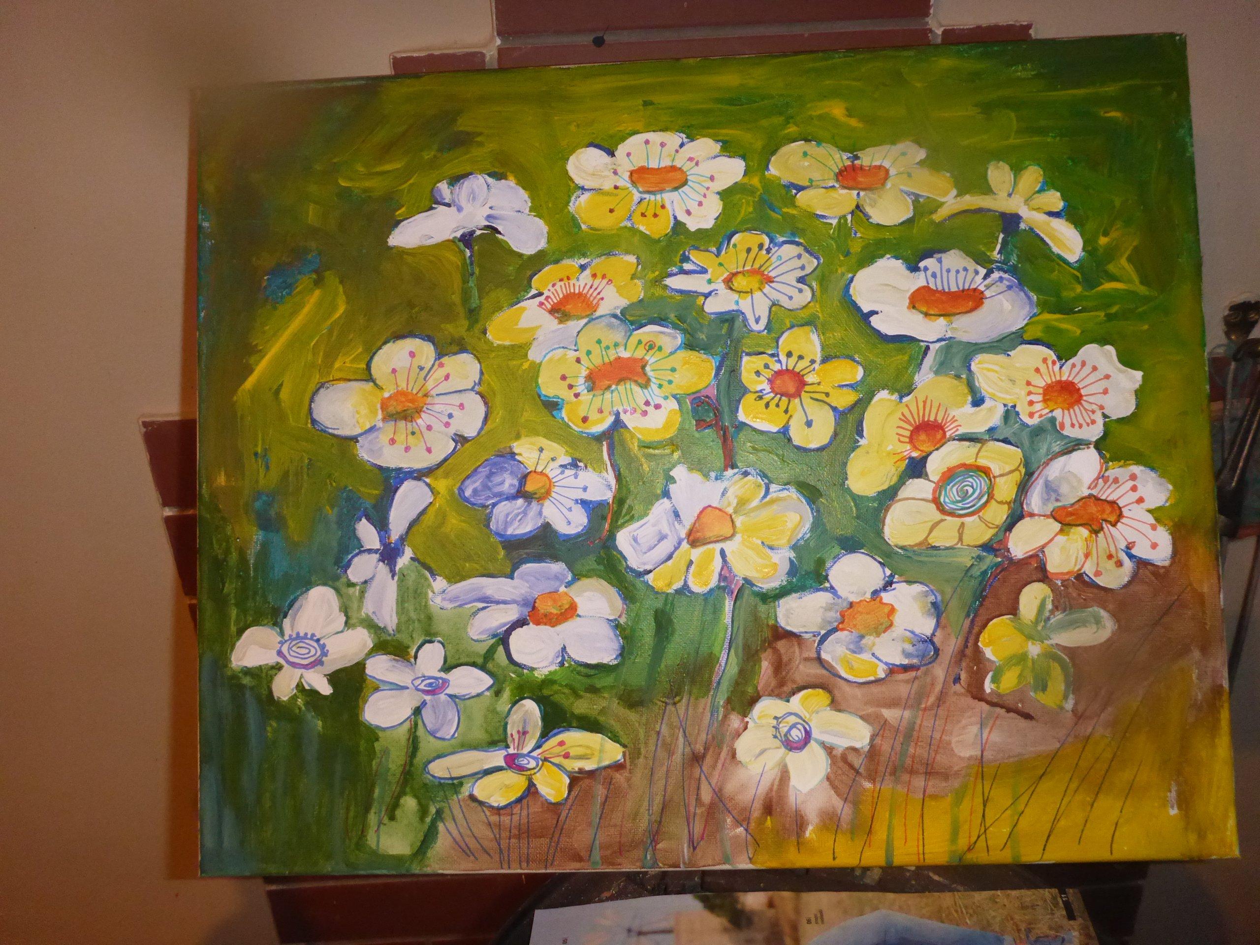 Obraz Akrylowy Kwiaty 7183621053 Oficjalne Archiwum Allegro
