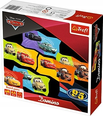 Trefl Gra Domino Cars