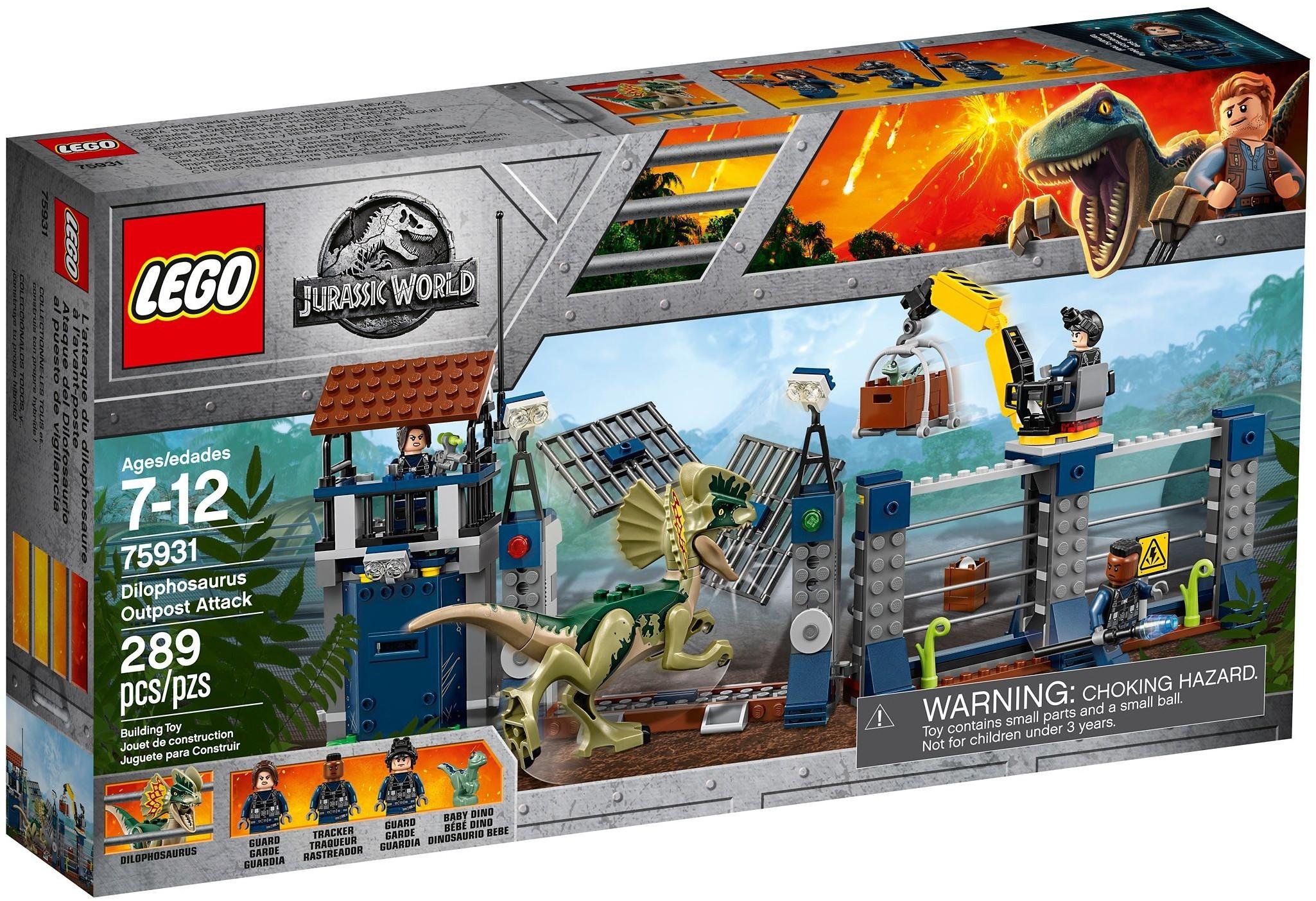 Lego Dinozaury 75931 Atak Dilofozaura Posterunek 7370042467