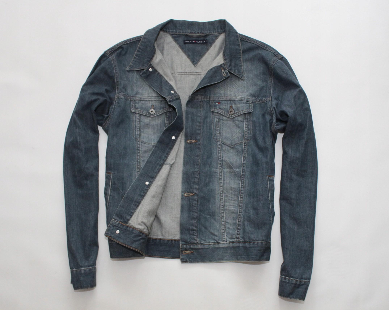 45fae87750a3c TOMMY HILFIGER - kurtka dżinsowa jeans r. XXL - 7424573263 ...