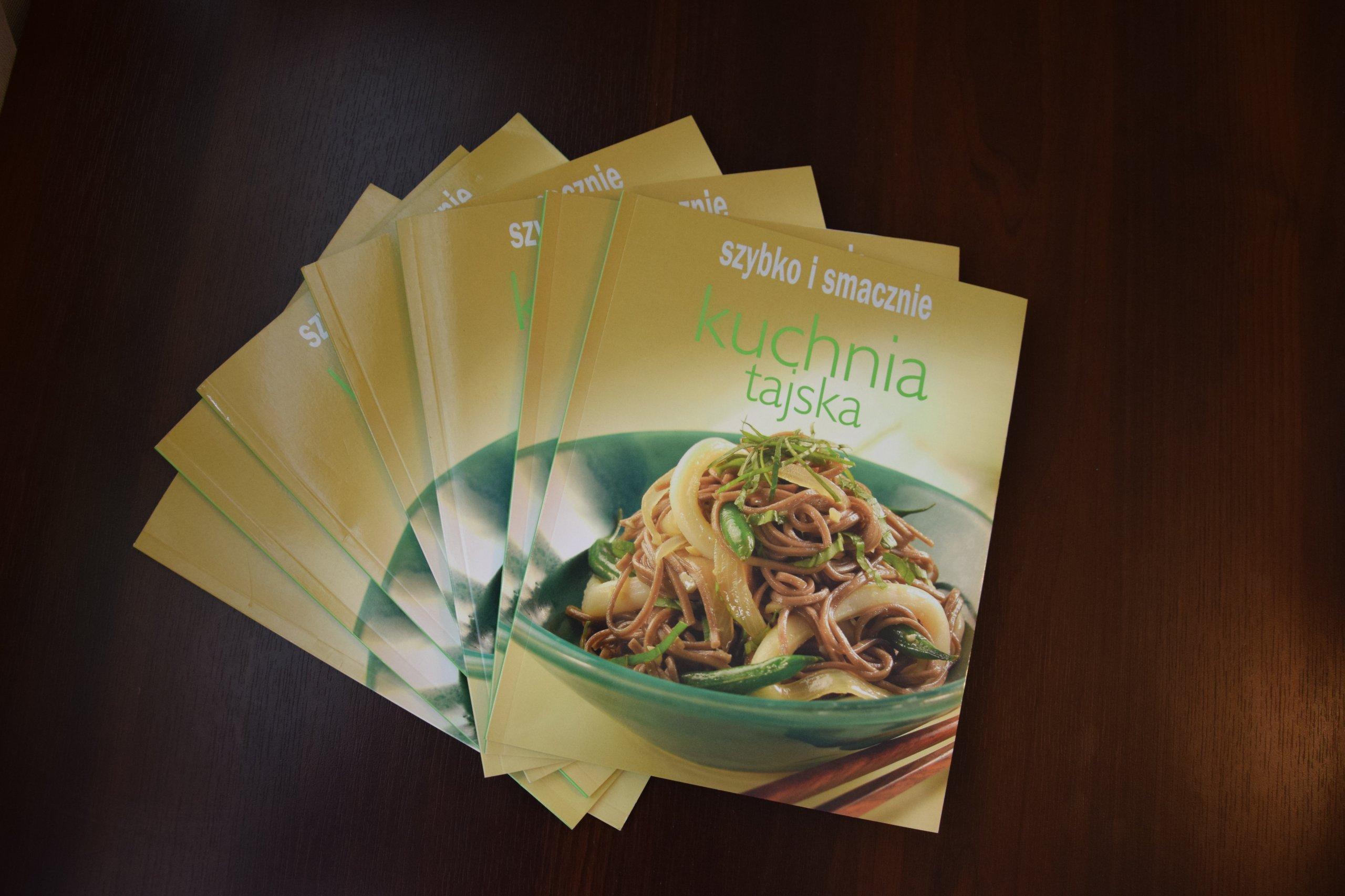 Nowa Książka Kucharska Kuchnia Tajska Gastronomia 7168103291