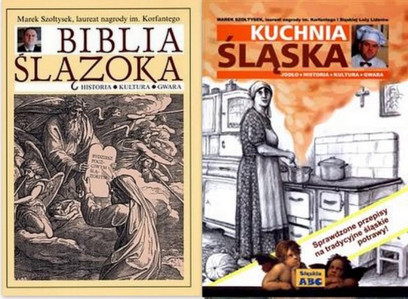 Biblia ślązokakuchnia śląska Szołtysek Kpl2szt