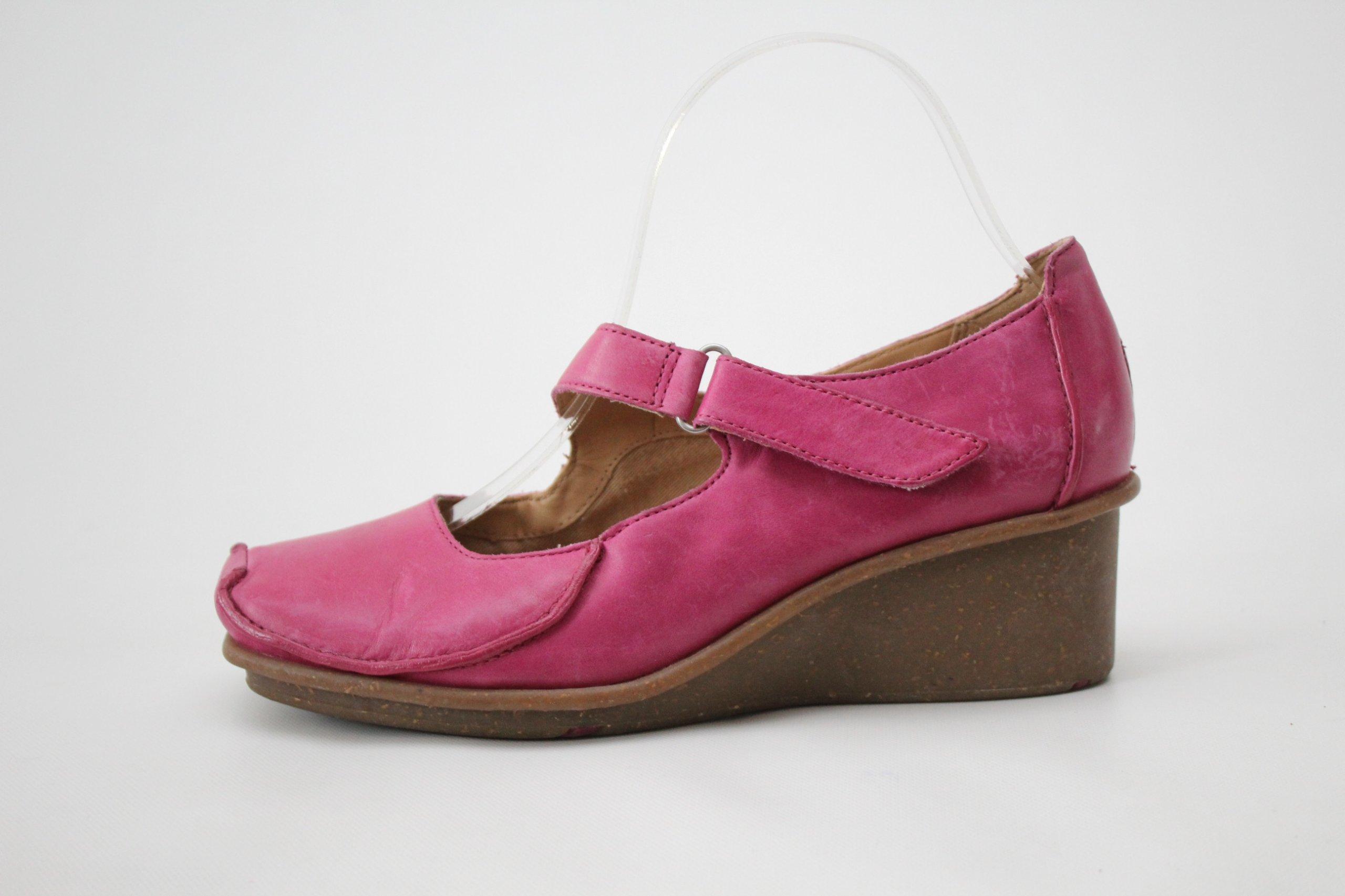 723dc722 CLARKS - skórzane czółenka buty r. 39 (25 cm) - 7228475644 ...