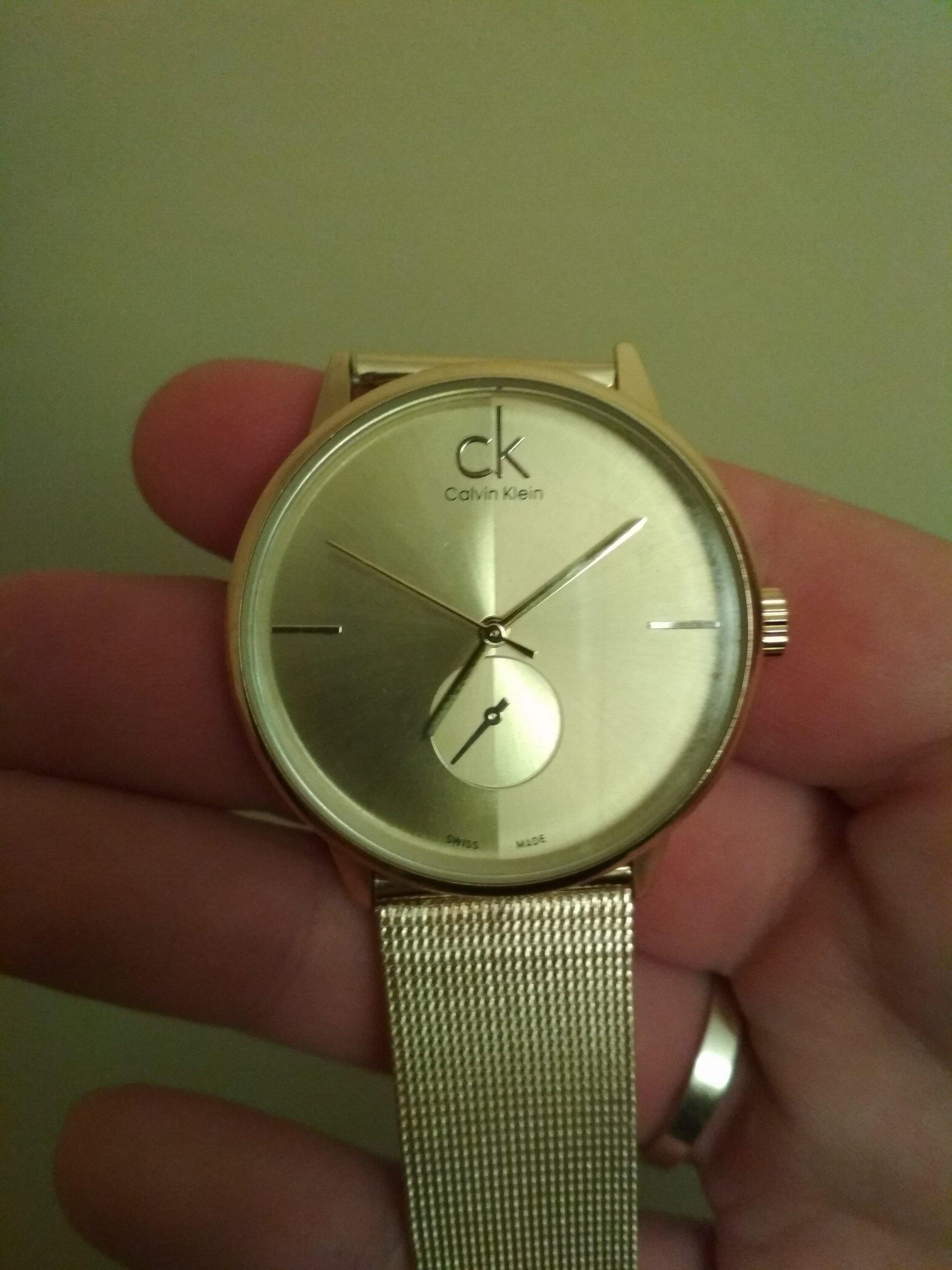 614137bfe029d Zegarek damski Calvin Klein licytacja - 7349058541 - oficjalne ...