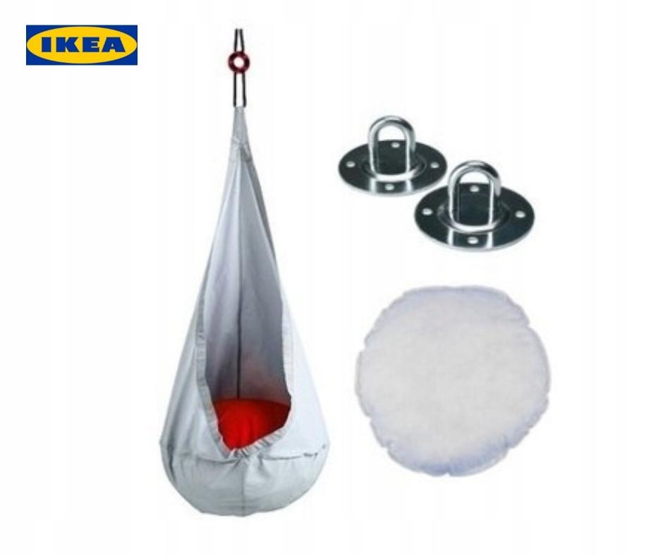 Wonderlijk HUŚTAWKA IKEA EKORRE|komplet|warszawa/stan idealny - 7622697202 UY-36