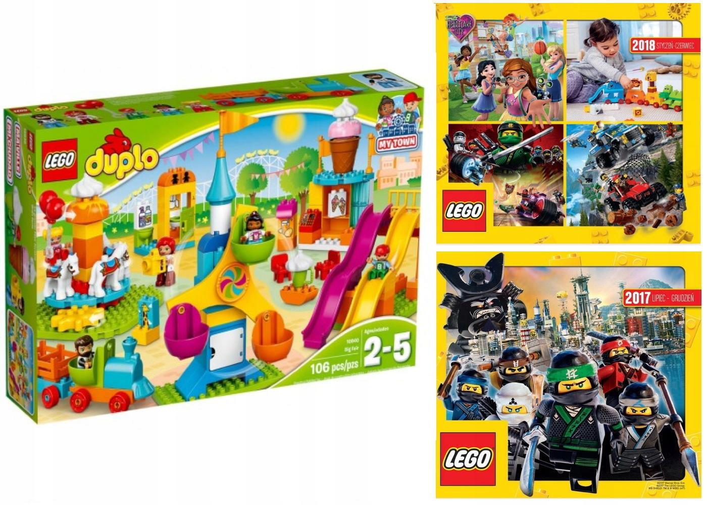 Lego Duplo 10840 Duże Wesołe Miasteczko 2 Katalo