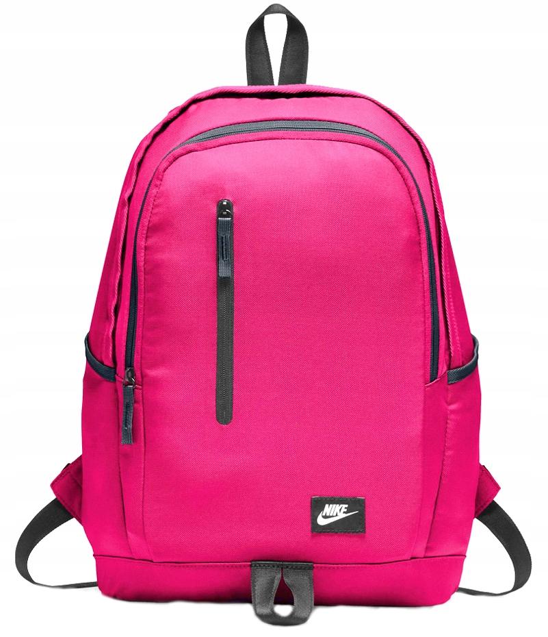 56cc7778971df Plecak NIKE szkolny DAMSKIE plecaki SZKOLNE różowy - 7529389549 ...