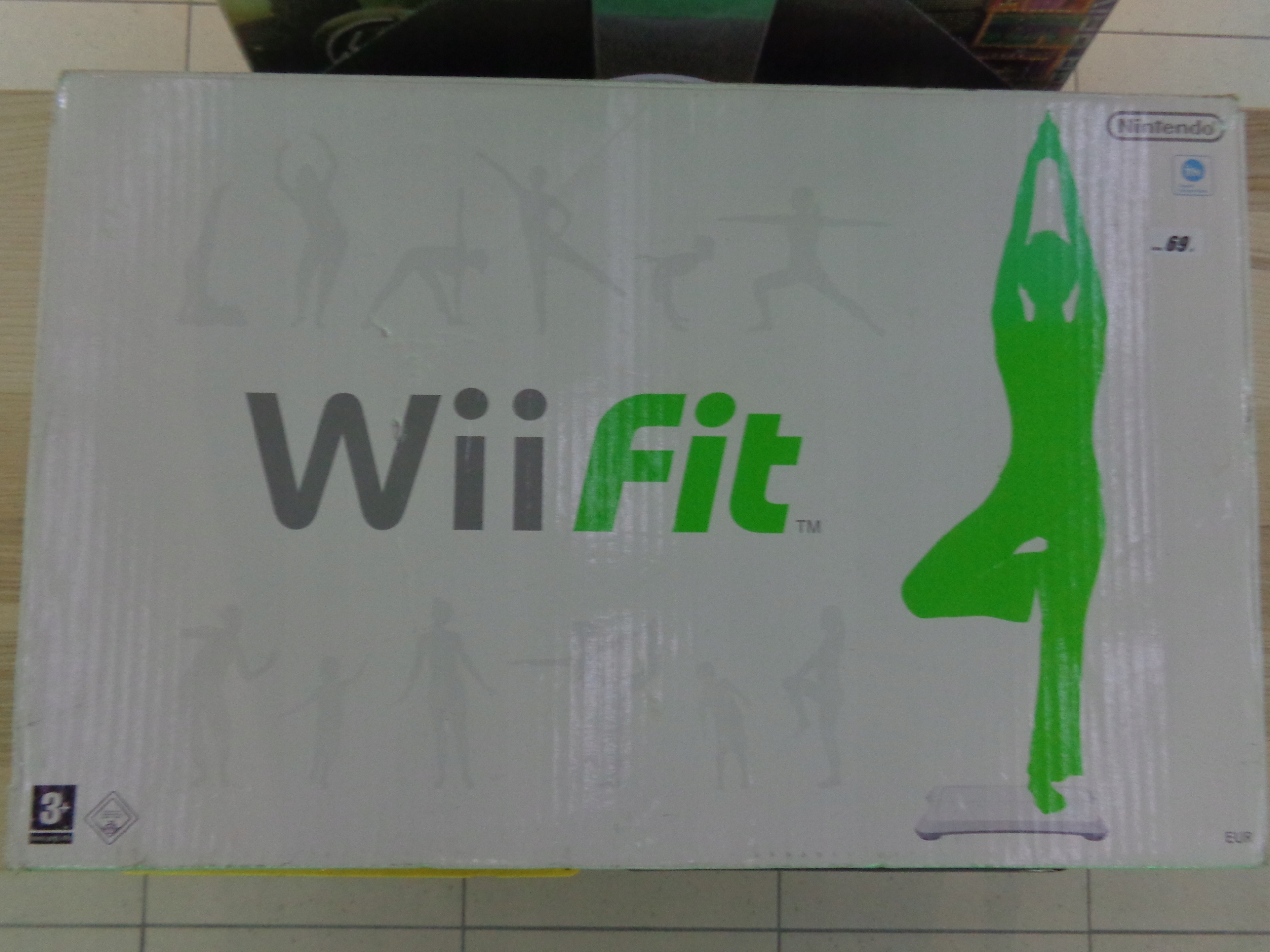 Oryginalny Wii Fit fitness do konsoli Nintendo