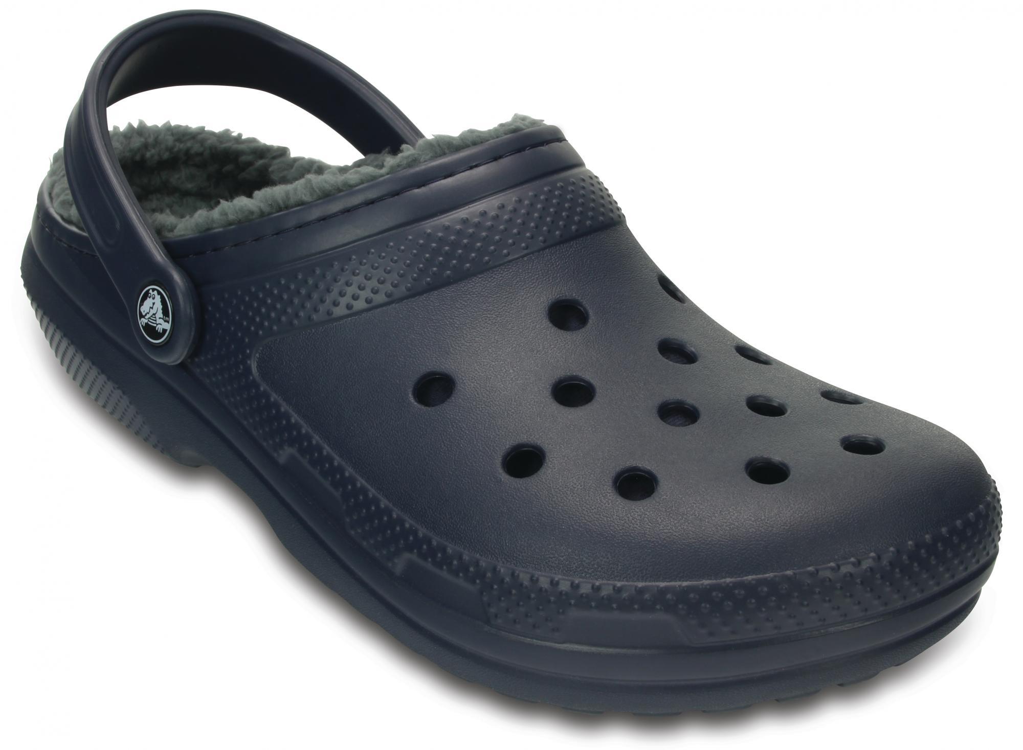 Crocs buty Classic Lined Clog NavyCharcoal 38,5